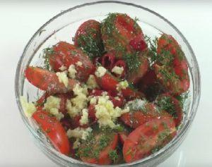 Специи в острых помидорах