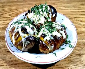 Спиральный картофель