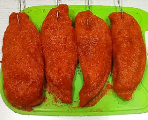Вялим куриное филе