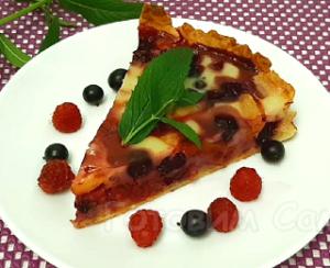 Тарт ягодный